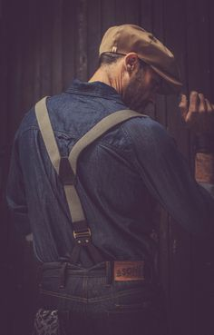 The launch of a pioneering clothing brand Hipster Haircuts For Men, Denim Shirt With Jeans, Red Wing Boots, Guy Style, Raw Denim, Nice Clothes, Peaky Blinders, Collar Styles, Denim Outfit