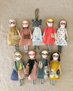 Rag doll -- Click Visit link above to read Tiny Dolls, Soft Dolls, Dolls Dolls, Rag Dolls, Softies, Fabric Dolls, Paper Dolls, Sewing Dolls, Doll Maker