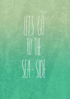 let's go to the sea side by margery