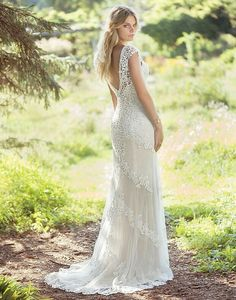 Lillian West Bridal 6497