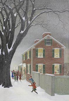 Beacon Hill Carolers ~ by Charlotte Joan Sternberg