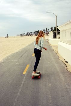 I miss skateboarding! Definately learning to longboard this summer! :) @abbymartens