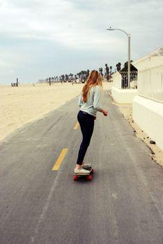 I miss skateboarding
