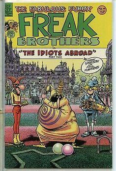 Fabulous Furry Freak Brothers 1971 series # 9 near mint comic book | eBay Comic Art, Comic Books Art, Bd Comics, Funny Comics, Fat Freddy's Cat, Gilbert Shelton, Pop Art, Pin Up Posters, Ligne Claire