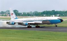Boeing VC-137C SAM 26000 (Air Force One):  Tail # 26000. This plane is now at the Smithsonian Air and Space Museum.