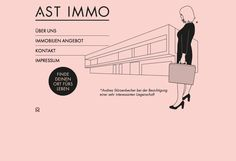 AST IMMO by INTERNETKULTUR // www.stuerzenbecher.com Zen, Website, Movie Posters, Movies, Places, Films, Film, Movie, Movie Quotes