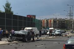 Karambol na Ruczaju. Sprawca nie ma pojęcia, co się stało [ZDJĘCIA] - Zdjęcie 9397 - LoveKraków.pl