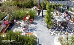 Terrasse / Volker design via Lejardindeclaire