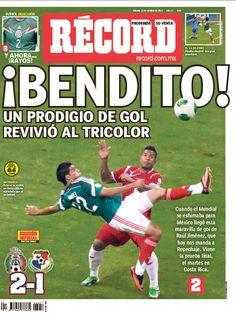 Las mejores portadas del 2013: Raúl Jiménez revivió al Tricolor, la portada del 12 de octubre