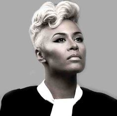 Emeli Sande seriously her face is ridiculous. Plus her voice is like nothing that can ever be matched. Newest girl crush