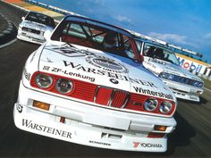 BMW E30 M3 race cars - DTM