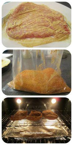 Shake 'N Bake Pork Chops Recipe | TheSuburbanMom