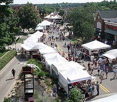 Milford Memories Summer Art Fair - 2nd weekend in August.