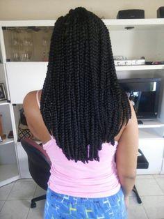 Jumbo box braids #protectivestyle #naturalhair