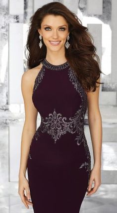Shop Morilee's Form Fitting Jersey Special Occasion Dress with Crystal Beaded Embroidery. Crystal Beaded Embroidery on Jersey. Mother Of The Bride Dresses Long, Mothers Dresses, Pretty Dresses, Beautiful Dresses, Mori Lee Dresses, Trumpet Dress, Evening Dresses, Formal Dresses, Pageant Dresses