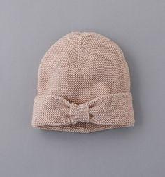 Glitzy knit hat