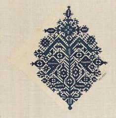 Moroccan Embroidery fragment
