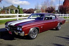 1970 Chevrolet Chevelle SS 454 Click to Find out more - http://fastmusclecar.com/best-muscle-cars/22957/ COMMENT.
