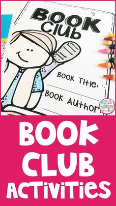 These book club activities are perfect for reading centers, literature circles or guided reading groups. Nearly every reading standard is covered. They can be used with any book! Reading Lessons, Reading Skills, Teaching Reading, Guided Reading, Math Lessons, Teaching Ideas, Reading Centers, Reading Groups, Reading Workshop