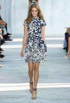 New York Fashion Week: Diane von Furstenberg Spring/Summer 15