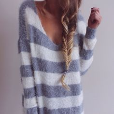 love this fuzzy sweater!!!