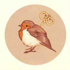 Image result for wind up bird tattoo