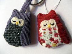 Sewing owls tutorial