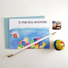 To Your New Adventure Card from Genevieve Santos for $4 on Square Market