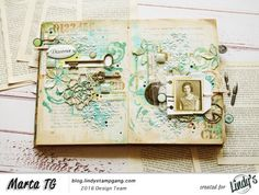 Hello! It's Marta TG here. Today I have an art journal spread for you, which was inspired by patina. Just take a look at these beautiful pictures… (picture's source: 1, 2, 3, 4, 5…