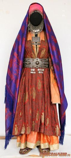 Costume from Dagestan || Лезгинка, с.Ахты (Lezgian, Ahty, Akhtynsky District)