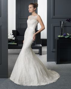 Ruth - Sposa 2015. Collezione Two by Rosa Clará