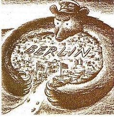 Le mur de Berlin : symbole d'une guerre froide entre les blocs    La seconde Guerre Mondiale terminée, le monde n'est pas encore débarrassé de tous ses conflits, et la tension présente entre les deux grands vainqueurs laisse présager le pire. Le monde est partagé, commence alors une lutte compétitive entre deux idéologies contraires : les soviétiques et l'Occident (disons plutôt idéologie communiste et idéologie libérale). C'est à qui saura le mieux s'imposer à l'autre.