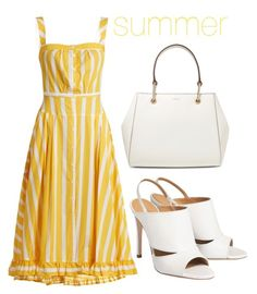 """summer"" by j-n-a ❤ liked on Polyvore featuring Thierry Colson, DKNY and Summer"