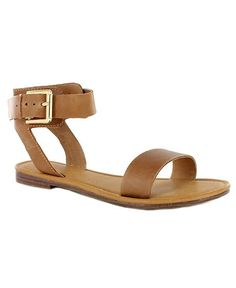 Strappy flat sandals: Ditch the shoepidity with these 15 tan sandals