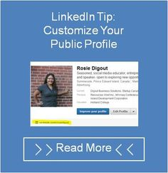 Digout Business Solutions Latest Blog Post  How to Create a Custom URL for Your LinkedIn Profile:  Here's a simple two-minute fix to to enhance your personal brand online, by creating a custom URL for your LinkedIn public profile.