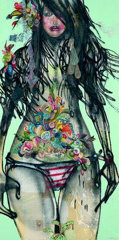 David Choe LOVE #art