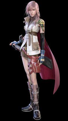 Lightning (FFXIII) Final Fantasy 13 by wongjp, via Flickr