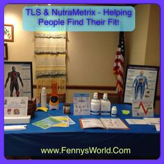 Helping people find their fit with #TLS & #Nutrametrix Customized #Wellness @ #Health fair! #Wellness #Weightloss #FindYourFit