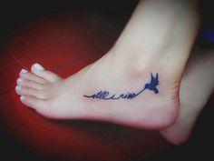 still i rise my 1st tattoo
