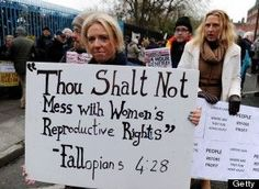 No man nor stranger should have rights over  the decisions of woman they don't know or care about.