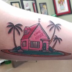 Kame House by Dan Hurst at Sanctuary Tattoo in Windsor ON