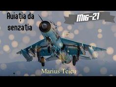 Aviația da senzația - Marius Teicu - YouTube Mig 21, Sci Fi, 21st, Youtube, Science Fiction, Youtubers, Youtube Movies