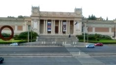 Museum of modern art, rome. Near Villa Borghese. Went there on holiday