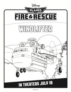 Windlifter Coloring Page