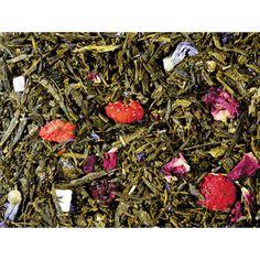 Japán sencha zöld tea, zamatos gyümölcsökkel