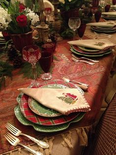 Christmas 2012 Tablescape