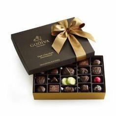 Godiva Chocolatierdark Chocolate Gift Pieces