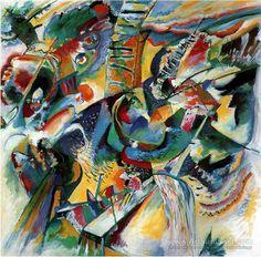 Title: Gorge Improvisation Artist:Wassily Kandinsky