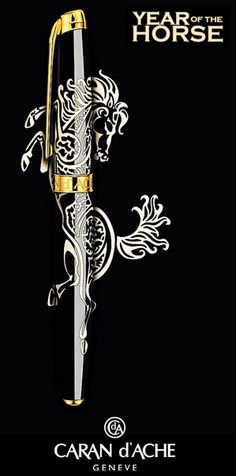 "Caran d'Ache 2014 ""Year of the Horse"" Limited Edition Fountain Pen"