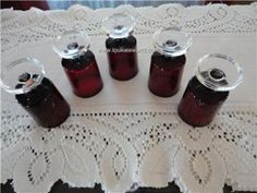 Vintage Ruby Red Arcoroc Cordial Glass Footed France